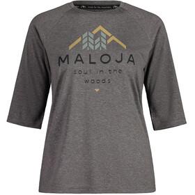Maloja HimbeereM. 3/4 Sleeve All Mountain Jersey Women, grigio